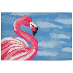 Liora Manne Illusions Flamingo Indoor Outdoor Doormat - 19 1/2'' x 29 1/2''