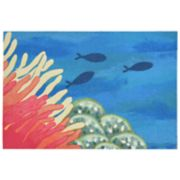 Liora Manne Illusions Reef & Fish Indoor Outdoor Doormat - 19 1/2'' x 29 1/2''