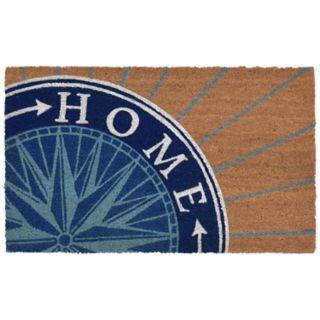 Liora Manne Natura Compass ''Home'' Indoor Outdoor Coir Doormat - 18'' x 30''