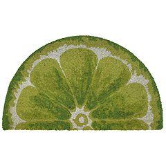 Liora Manne Natura Lime Slice Indoor Outdoor Coir Doormat - 18'' x 30''