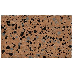 Liora Manne Natura Splash Abstract Indoor Outdoor Coir Doormat - 18'' x 30''