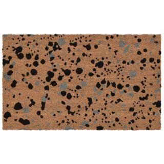 Liora Manne Natura Splash Abstract Indoor Outdoor Coir Doormat - 18'' x 30''