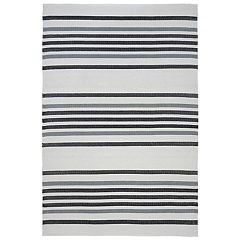 Liora Manne Plaza Stripe Indoor Outdoor Rug