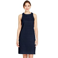 Women's IZOD Eyelet Sheath Dress