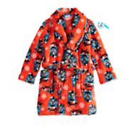 Toddler Boy Thomas the Train Snowflake Holiday Robe