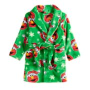 Toddler Boy Sesame Street Elmo Christmas Robe