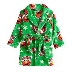 Toddler Boy Sesame Street Elmo Christmas Robe