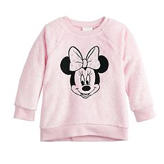 Disney's Minnie Mouse Baby Girl Sherpa Sweatshirt by Jumping Beans®