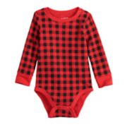 Baby Boy Jumping Beans® Fairisle Thermal Bodysuit
