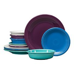 Fiesta Classic Colors 12-piece Dinnerware Set