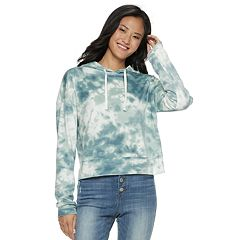 Juniors' SO® Velour Crop Hoodie