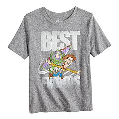 Disney/Pixar Toy Story Boys 4-10 Buzz Lightyear & Woody 'Best Friends' Graphic Tee by Jumping Beans®