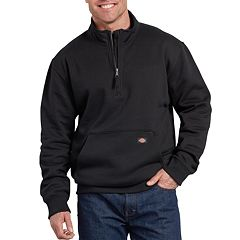 Big & Tall Dickies Mobility Fleece Quarter-Zip Pull-Over Jacket
