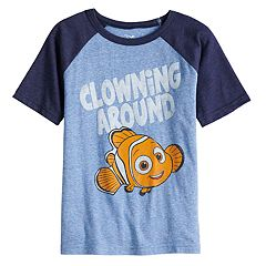 Disney / Pixar Finding Nemo Boys 4-10 'Clowning Around' Raglan Graphic Tee by Jumping Beans®