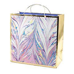 Hallmark Signature 'Marble' Large Gift Bag