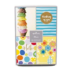 Hallmark 12-Count 'Fun Designs' Assorted Greeting Card Set