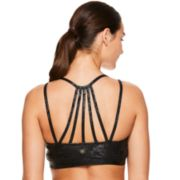 Gaiam Liv Yoga Strappy Back Medium-Impact Sports Bra GAW184BRLV