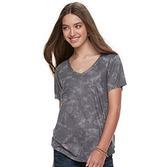 Juniors' Grayson Threads V-Neck Pocket Tee