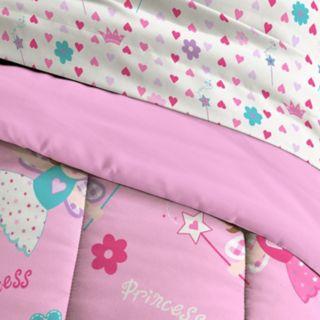 Toddler Dream Factory Magical Princess 4-piece Bed Set