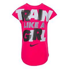 Girls 4-6x Nike 'Train Like A Girl' Graphic Tee