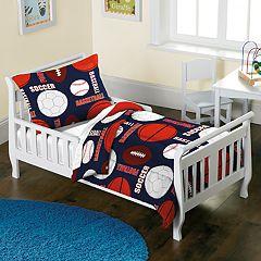Toddler Dream Factory All Sport 2-piece Comforter Set