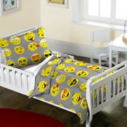 Toddler Dream Factory Emoji 2-piece Comforter Set