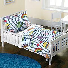 Toddler Dream Factory Peace & Lightning 2-piece Comforter Set