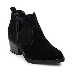 SONOMA Goods for Life™ Woodcut Women's Suede Ankle Boots