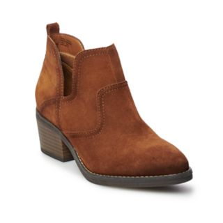 SONOMA Goods for Life? Woodcut Women's Suede Ankle Boots