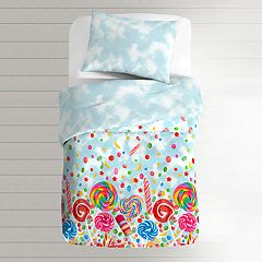 Toddler Dream Factory Sweet Candy 2-piece Comforter Set