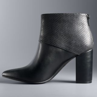 Simply Vera Vera Wang Parrot Women's High Heel Ankle Boots