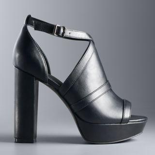 Simply Vera Vera Wang Parakeet Women's Platform High Heel Sandals