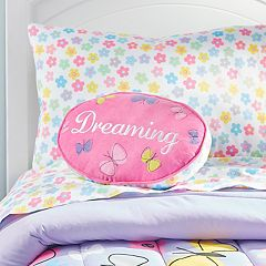 Dream Factory Dreaming Shaped Throw Pillow