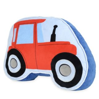 Dream Factory Tractor Shaped Throw Pillow