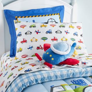 Dream Factory Plane Shaped Throw Pillow