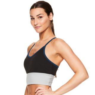 Gaiam Medium-Impact Yoga Sports Bra