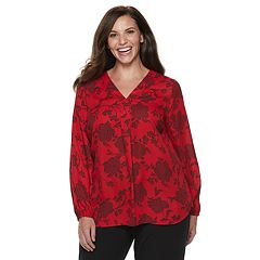 351aed8f7739f Plus Size Apt. 9® Pleat Top