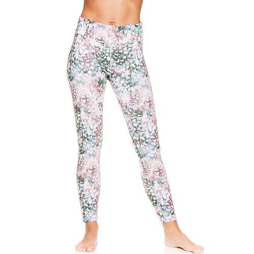 Women's Gaiam Print Yoga Midrise Ankle Leggings