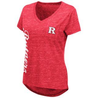Women's Rutgers Scarlet Knights Wordmark Tee