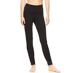 Women's Gaiam High Rise Mesh Leggings