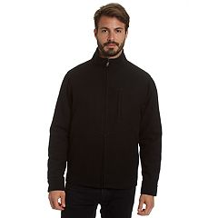 Men's Excelled Water-Resistant Wool-Blend Jacket