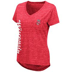 Women's Wisconsin Badgers Wordmark Tee
