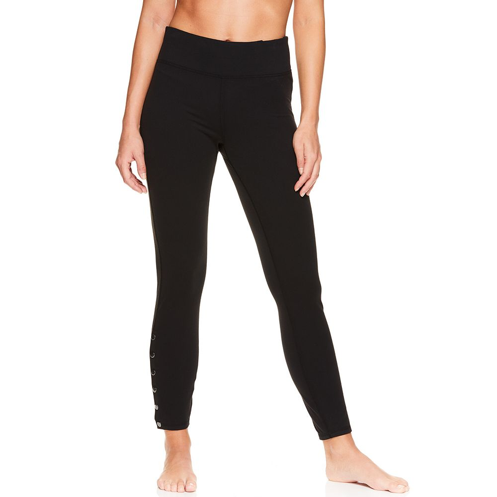 Women's Gaiam Yoga Midrise Ankle Leggings