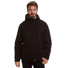 Men's Excelled Comfort Stretch Wool-Blend Hooded Jacket