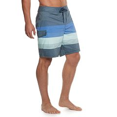 Men's Trinity Collective Blocko Striped Stretch Board Shorts