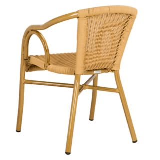 Safavieh Dagny Indoor / Outdoor Stacking Arm Chair 2-piece Set