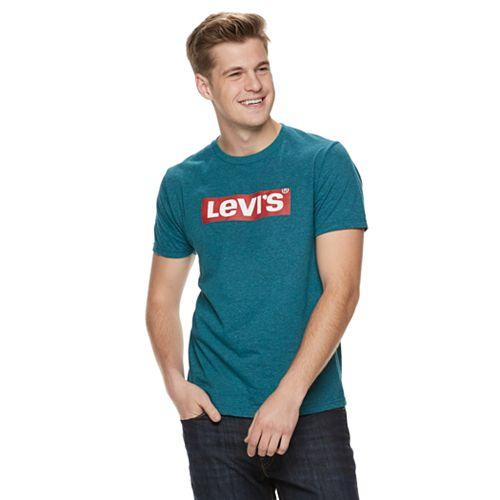 Mens' Levi's Box Tab Logo Tee