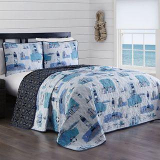 Stone Harbor 3-piece Quilt Set