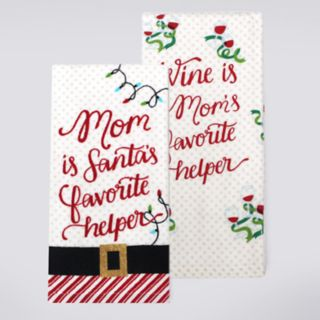 St. Nicholas Square® Mom Kitchen Towel 2-pack
