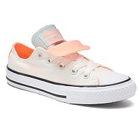 Converse Chuck Taylor All Star Double Tongue Low Top Girls Shoes